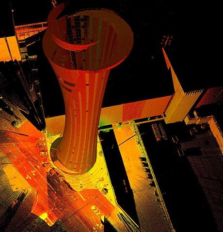 מיפוי וסריקת מבנים תלת מימדית