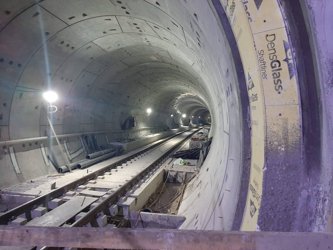 מנהרות הרכבת הקלה בתל אביב